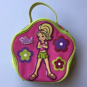 POLLY POCKET zippered case/tote - GREAT condition!